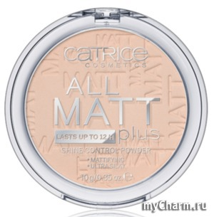 Catrice / Пудра All Matt Plus shine control powder