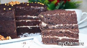 Ленивый шоколадный бисквит «Шоколад на кипятке» - Старый вкусный рецепт