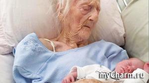Жительница Италии стала матерью в 101 год!