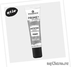 Essence / Матирующий праймер prime+ studio mattifying + pore minimizing primer