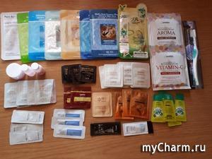 Пробники и маски корейских марок.