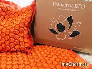 Справиться с болью в спине поможет массажный коврик Pranamat Eco