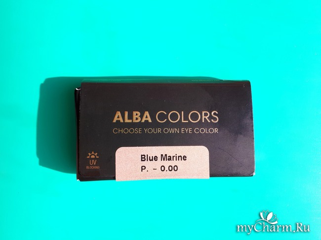Выберите свой собственный цвет глаз с контактными линзами Alba Colors