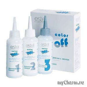 Как смыть цвет с помощью Color Off от Estel?