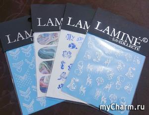 Вдохновляющие слайдеры от LAMINE la collecte