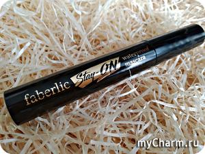 100% водостойкая тушь от Faberlic