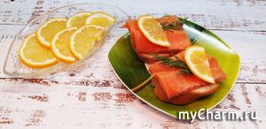 Будем солить очень вкусную красную рыбку. После этого рецепта магазинной вам точно не захочется.