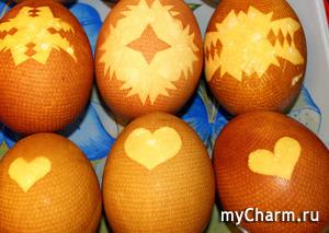 Как я крашу яйца
