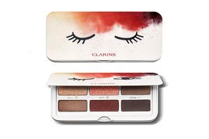 Clarins / Палитра для макияжа глаз и бровей Ready In A Flash