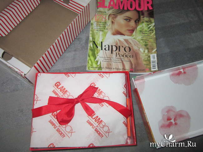 Моя первая коробочка красоты от GLAMBOX.