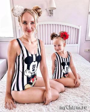 Мама с дочкой создают креативные бюджетные варианты ярких образов с красных дорожек