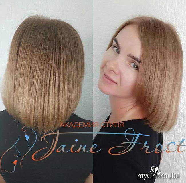 окрашивание корней волос