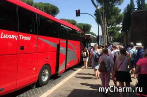 Начавшую рожать итальянку не только высадили из автобуса, но еще и наказали