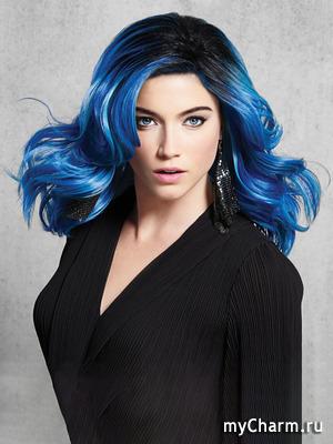 Спасите, волосы стали темными и синими!