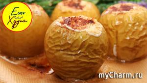Ешь и Худей! Мой Идеальный Десерт ПП. Запеченные Яблоки с Творогом, Орехами и Корицей.
