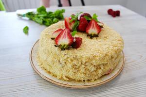 Торт из 3 ингредиентов.