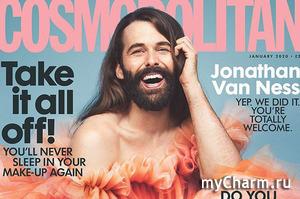На обложке Cosmopolitan впервые за тридцать пять лет появился мужчина