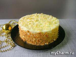 Торт «Пломбир» со вкусом мороженого