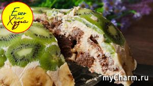 Легкий Фруктовый Торт для Сладкоежек на Правильном Питании. Ешь и Худей!