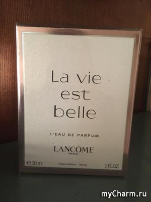 Кто знаком с LANCOME LA VIE EST BELLE?