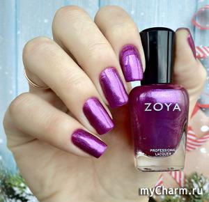 Zoya Millie (ZP889) мерцающий фиолетовый!
