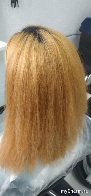 Легкий пилинг для волос