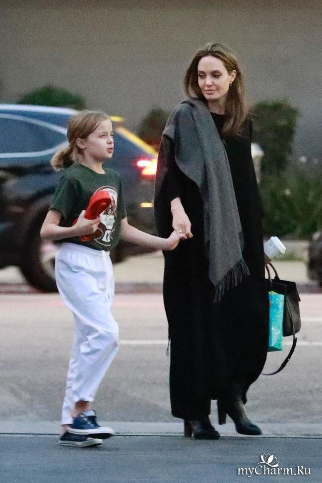 Десятилетняя дочка Анджелины Джоли будет заниматься боевыми искусствами