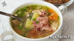 Гороховый Суп с Копченостями. Быстрый и Вкусный Обед на Раз-Два! Рецепт