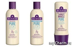 Aussie представляет новую коллекцию Pure Locks для волос, уставших от серых будней!