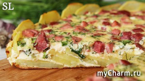 Картофельная Пицца из Доступных Продуктов! Великолепный Ужин!)