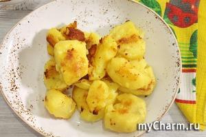 Самая вкусная сливочная картошка с хрустящей корочкой в духовке.