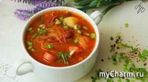 Капустняк. Вкусный и Нажористый Суп на Скорую Руку.