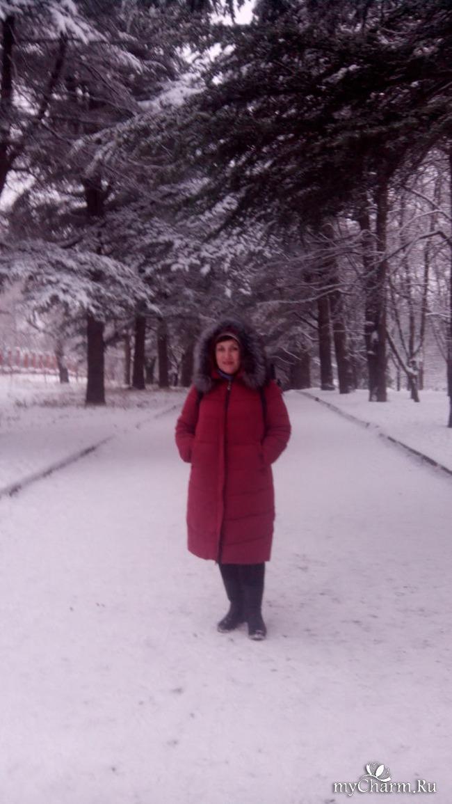 фото 1: И у нас выпал снег