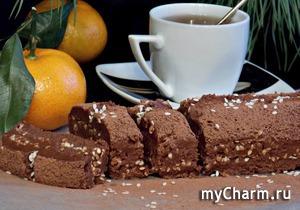 КК. Рождественские посиделки. Помадка шоколадно-апельсиновая.