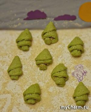 """КК. Рождественские посиделки. Печенье """"Зимние елки"""""""