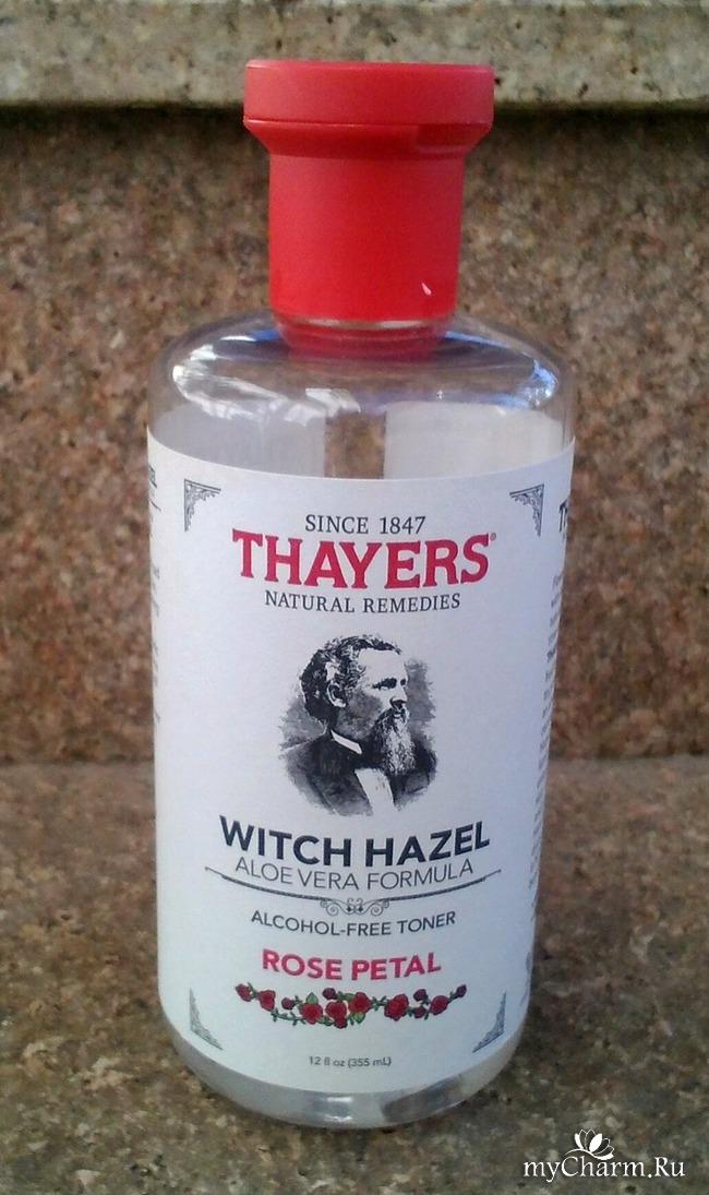 Thayers -- знаменитый тоник с экстрактом гамамелиса.