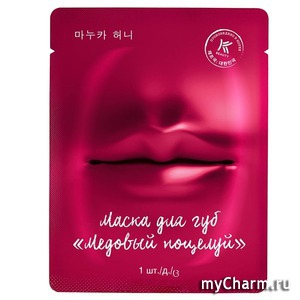 "K-Beauty by Avon / K-Beauty Гидрогелевая маска для губ ""Медовый поцелуй"""
