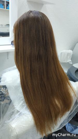 Седина+рыжинка+длинные волос - идеально!