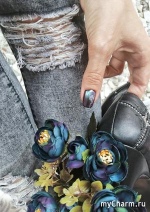 Космос на моих ногтях от BeautyBigBang