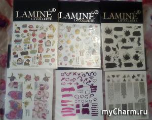 Ура!!! Буду тестировать слайдеры LAMINE la collecte!!!