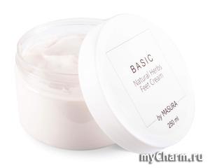 Masura / Крем для ног Basic Natural Herbs Feet Cream
