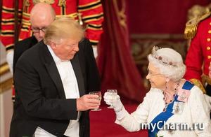 Дональд Трамп позволил себе вольность по отношению к Елизавете II