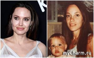 Поклонники поражены сходством Анджелины Джоли с мамой
