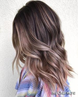 Идеи окрашивания для темных волос