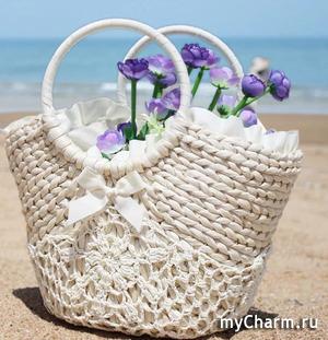 Модные сумки для пляжа