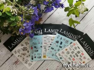 Красиво и быстро слайдерами Lamine la collecte