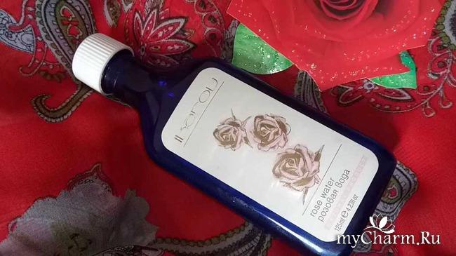 Розовая вода - моя косметическая находка №1