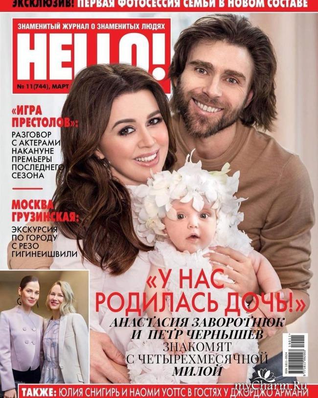 Анастасия Заворотнюк родила дочку