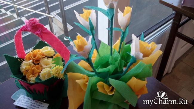 цветы-поделки