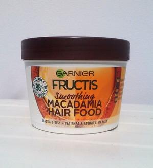 Garnier Fructis Macadamia hair food.